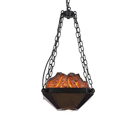 Lámpara techo lámpara techo diseño estufa carbón