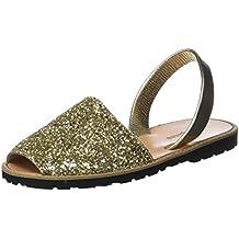 Womens Avarca Tissu Menorca Ecru Open Toe Sandals Minorquines zWAz8zOBv