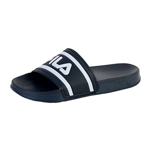 Scarpe fila 1010286 morro bay slipper sandali ciabatte vintage mare logo