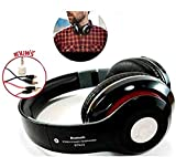 This ultimate Bluetooth HD Wireless Headphones with amazing sound quality. Connect your phones, tabs, computers and other devices wirelessly and / or with the Aux cable that comes with the headphone. Its Stylish Design makes it easy to carry around w...