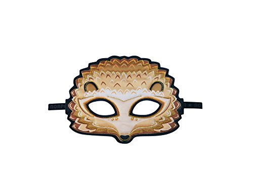 Dreamy Dress-Ups 71838 Tier Maske, Igel (Mask Waschen Pack)