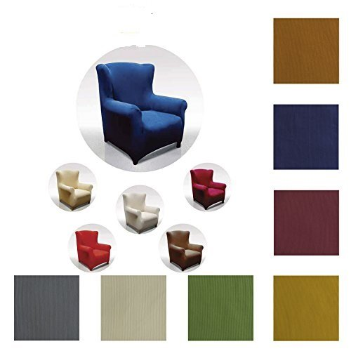 Stretch-Sofabezug Sesselbezug My Colors Copripoltrona (da 85 a 110 cm)
