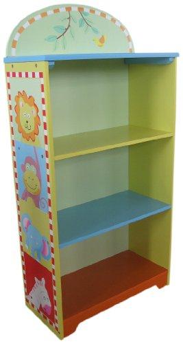 LibertyHouseToys Safari Tiere Bücherregal - Safari Kids Tisch