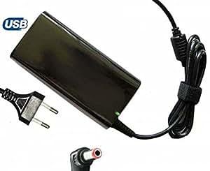 Chargeur / Alimentation Pc Portables E-force® pour TOSHIBA PA3917U-1ACA - 65W/3.5A - Port 0 Euro. PRIORITÉ à la QUALITÉ