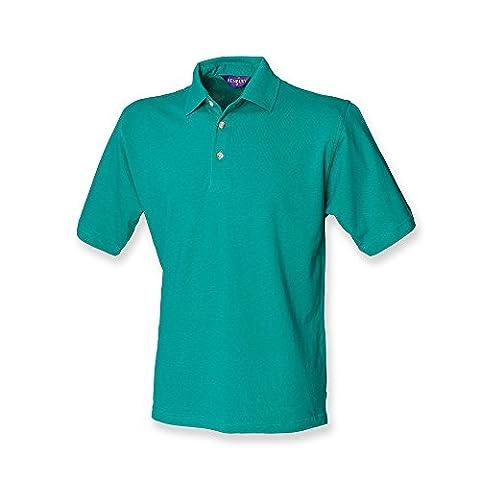 Henbury Classic Heavy Pique Polo Shirt : Color - Jade