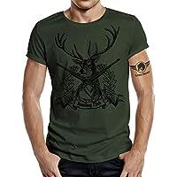 Jäger - Camiseta, diseño de ciervo