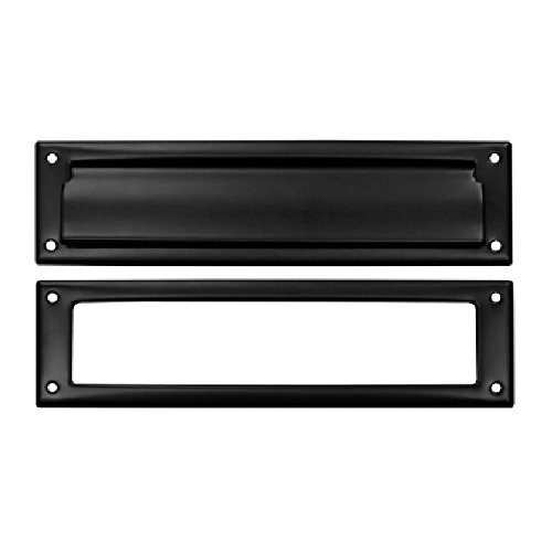 Deltana MS211U19 13 1/8-Inch Mail Slot with Solid Brass Interior Frame by Deltana