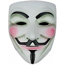 ANONYMOUS V FOR VENDETTA GUY FAWKES FANCY DRESS HALLOWEE FACE MASK (máscara/careta)
