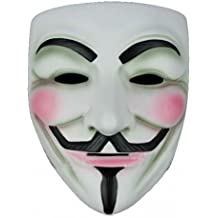 ANONYMOUS V FOR VENDETTA GUY FAWKES FANCY DRESS HALLOWEE FACE MASK (máscara/ careta)