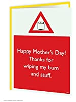 Wipe Bum Mothers Day Card