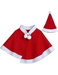 BANAA Costume Per Vestiti Per Neonati Bambino Bambini Natale Vestito Del  Mantello Del Cosplay Eleganti Bambino 3bbc3308ef07