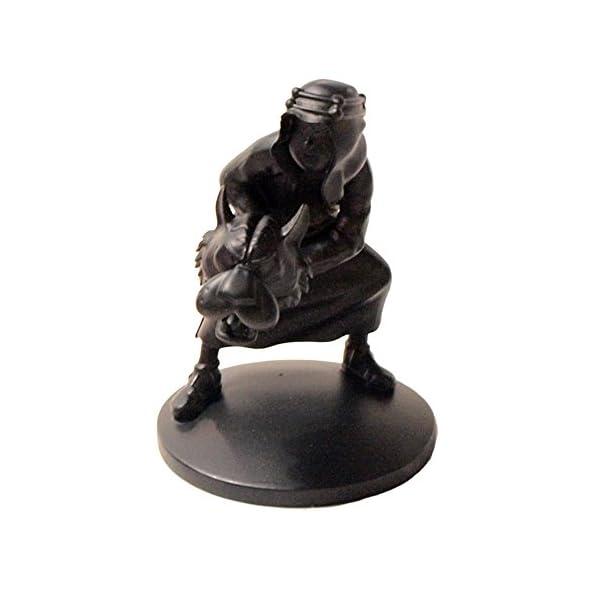 Moulinsart Figura de colección Tintín Abdallah Negro Monocromo (42163) 1