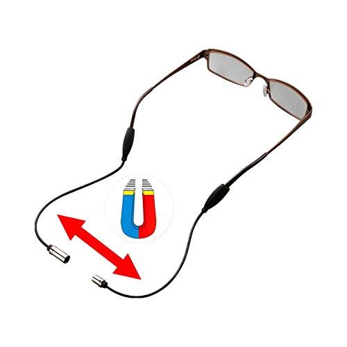 Unbekannt Brillenband, magnetisch, aus Silikon