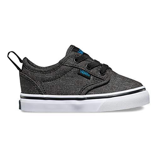 Vans Atwood Slip-On Infant Sneakers - Schwarz - UK 7 / US 7.5 / EU 24 / 12.5 cm