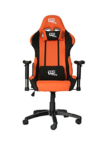 1337 Industries  – Silla gaming gc757 negro y naranja