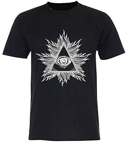 PALLAS - T-shirt - Homme - noir - Large