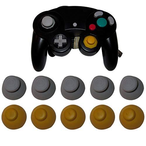 FafSgwq 10pcs Ersatz-Controller Joystick Thumbstick Kappen Für Gamecube Alle Arten Gamepads