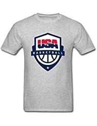 maikeer Mens USA Olympic Basketball T Shirt S