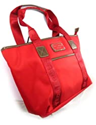 "Sac shopping ""Ted lapidus"" rouge"