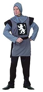 Reír Y Confeti - Ficmou003 - Para Disfraces para Adultos - Disfraz Caballero Medieval - Hombre - Talla XL