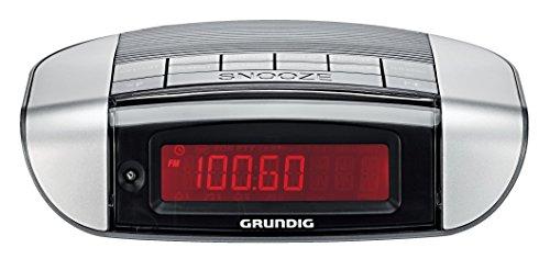 Grundig Sonoclock 660 UKW-RDS-Uhrenradio schwarz/silber