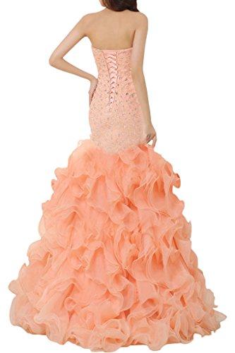 TOSKANA BRAUT - Robe - Sirène - Femme Orange