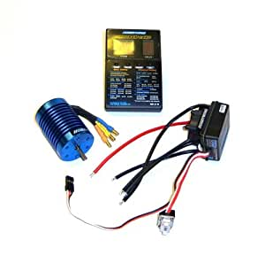 B8 RC ESC 540 9T Motor Brushless 60A KV4300 1/10 Combo Electric Speed Controller
