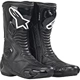 222309 10 45 - Alpinestars S-MX 5 Motorcycle Boots 45 Black (UK 11)