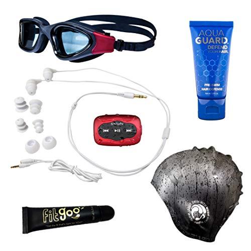 Swimbuds Kopfhörer mit SYRYN wasserdichter MP3 spieler