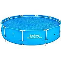 Bestway 58241 Copertura solare per Frame Pool, Diametro 305 cm