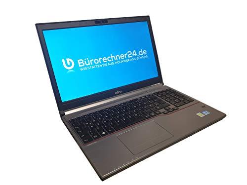 Fujitsu Lifebook E753 - Premium Business-Notebook - Intel Core i5 - 2,70GHz, 256GB SSD, 8 GB RAM, 15,6 zoll 1920x1080 Full-HD LED-Display, Windows 10 Pro - (Generalüberholt)