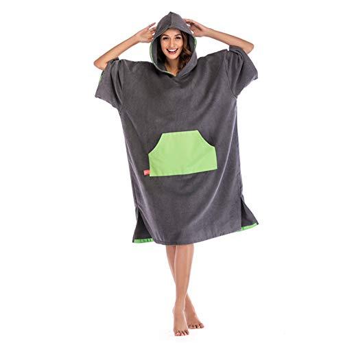 Poncho toalla capucha Playa gran tamaño Surf Poncho