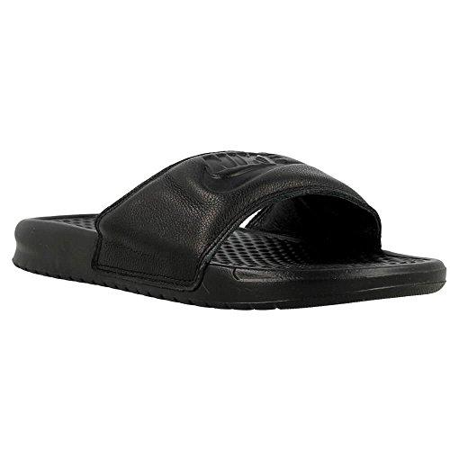 Nike Herren Benassi Jdi Leather Turnschuhe, Schwarz, 41 EU