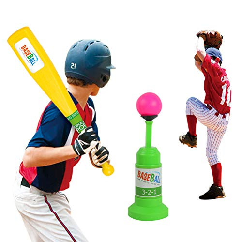 Ysoom Triple Play Splash T Ball Set, Training Automatic Launcher Baseballschläger Spielzeug, Safe Indoor Outdoor Sports Baseball-Spiele für Kinder -
