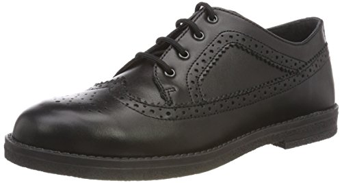 Richter Kinderschuhe Cloe, Unisex-Kinder Derbys, Schwarz (Black 9900), 39 EU (5.5 UK)