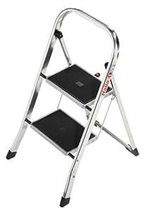 Hailo 4392-801  K30 150 kg Aluminium Household Steps (2 Steps)
