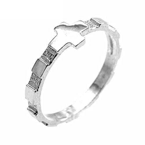 Sebaoth Ring Sterling Rosenkranz Silber 925M (Sterling Silber Rosenkranz)