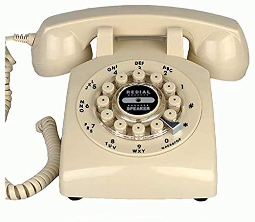 Lszdp- & zio Retro-Telefon, Festnetztaste, Retro-Telefon, mit klassischem Metallklingel
