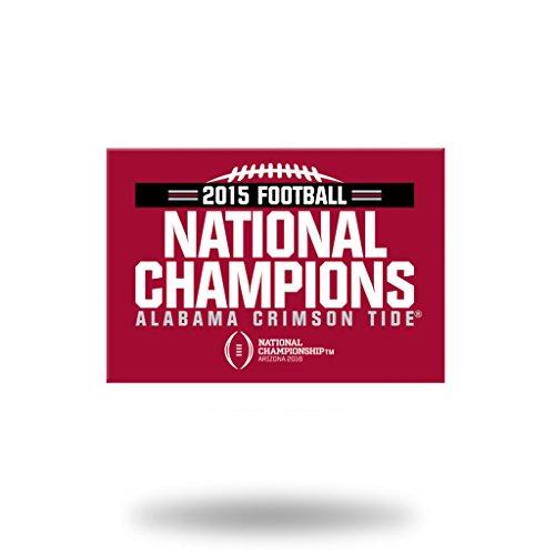 Rico Alabama Crimson Tide Offiziellen NCAA 5,1x 7,6cm 2015National Champions Kühlschrank Magnete von 163608 Champions Auto-magnet