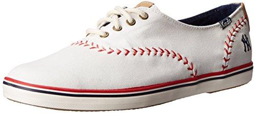 Keds Damen Wimpel (Pennant), New York Yankees, 40 EU (Keds Damen Rot)