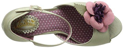 Joe Browns Corsage Vintage Occasion Shoes, Bride de cheville femme Green (a-soft Sage)
