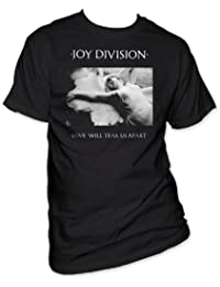 Old Glory Mens Joy Division - Love Will Tear Us Apart T-Shirt