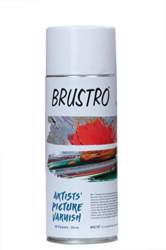 Brustro Artists' Varnish - Gloss- 400 ml spray can ( Made In Spain )