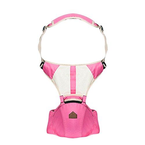 GKPLY Portabici da Viaggio all Seasons, Tracolle per Marsupi A Tracolla, Marsupio Ergonomico A più Posizioni per I più Piccoli,Pink