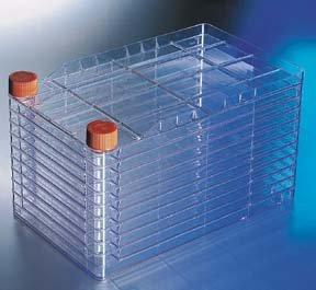 Corning 3271Polystyrol cellstack–10Kammer mit Vent Kappen (Pack von 6)