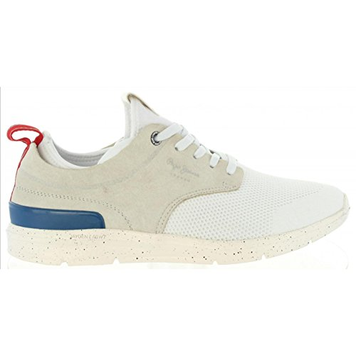 Chaussures Pour Homme Pepe Jeans PMS30410 Jayden 800 White