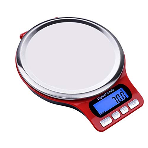 Báscula de cocina digital Báscula de cocina eléctrica de acero inoxidable de 5Kg / 3Kg Pantalla de retroiluminación LCD de balanza de alimentos de alta precisión para cocinar  Descripción:  5000g / 3000g de capacidad, precisión de 1g / 0.1g, sensores...