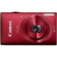 Canon IXUS 140 Digitalkamera (16 Megapixel, 8-fach opt. Zoom, 7,6 cm (3 Zoll) Display, bildstabilisiert, DIGIC 4 mit iSAPS) rot