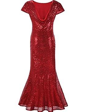 Vestito da sera femminile Vestito lungo da cocktail Vestito da cocktail da cocktail Vestito da cerim...