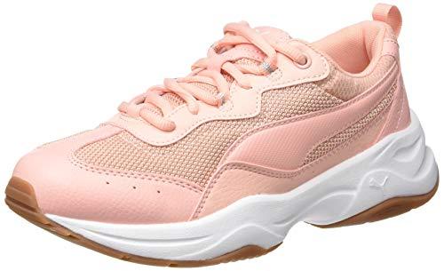 Puma Damen Cilia Sneaker Orange (Peach Bud White Silver-Gum 4), 36 EU